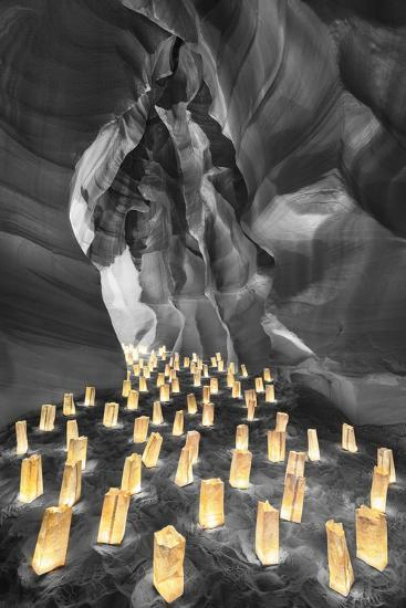 Candle Canyon BW - Pop-Moises Levy-Photographic Print