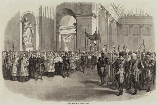 Candlemas at St Peter'S, Rome--Giclee Print