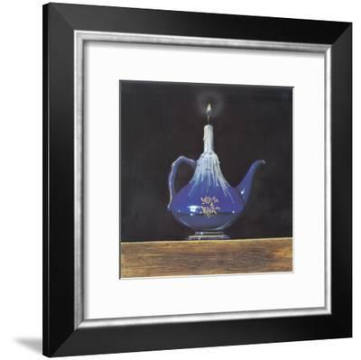 Candles In The Dark II-Manso-Framed Art Print