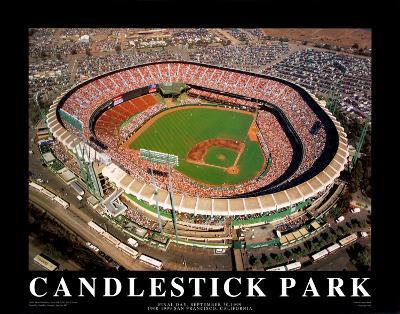 Candlestick Park - San Francisco, California-Mike Smith-Art Print