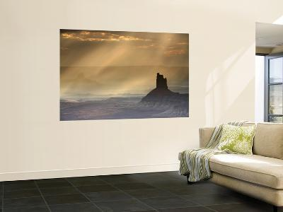 Candlestick Rock with Light Filtering Through Clouds Viewed from Near Murphy Point-Ruth Eastham & Max Paoli-Wall Mural
