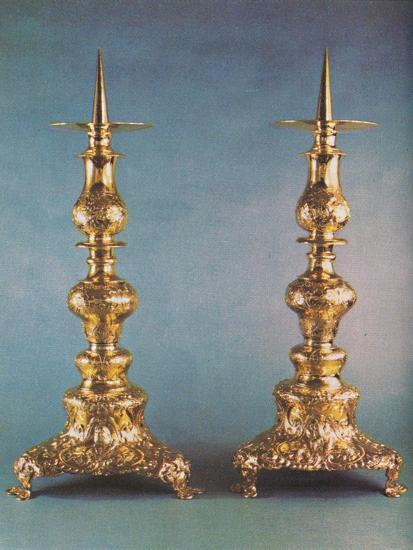 'Candlesticks, c.1662', 1953-Unknown-Photographic Print