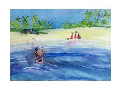 Candolim Beach, Goa, India, 1998-Sophia Elliot-Giclee Print