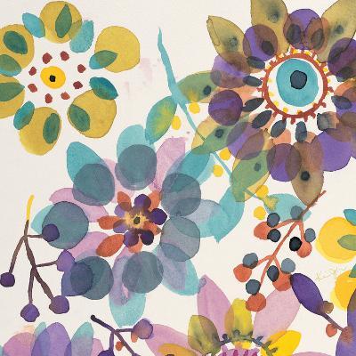 Candy Flowers 1-Karin Johannesson-Premium Giclee Print