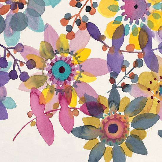 Candy Flowers 3-Karin Johannesson-Premium Giclee Print