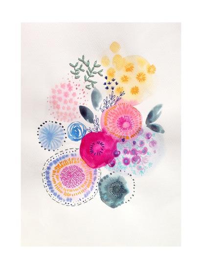 Candy Garden-Victoria Johnson-Art Print