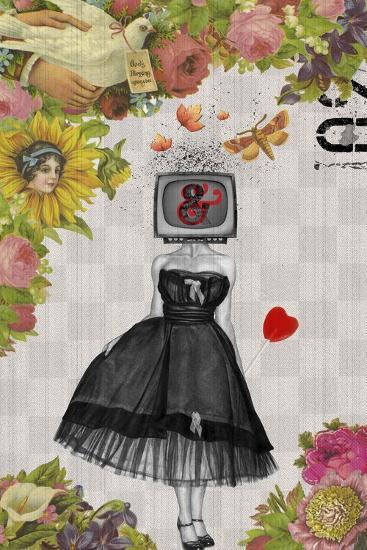 Candy Girl-Elo Marc-Giclee Print
