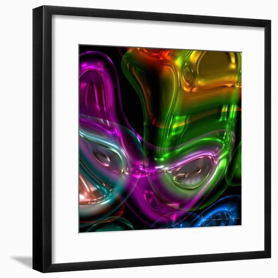 Candy IV-Jean-François Dupuis-Framed Premium Giclee Print
