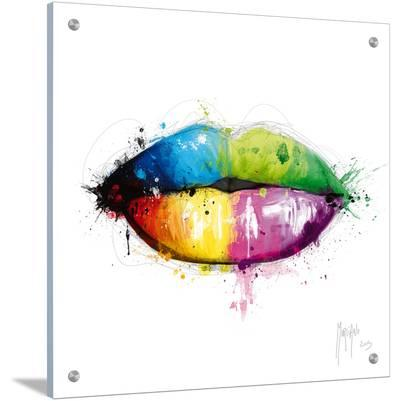 Candy Mouth-Patrice Murciano-Art on Acrylic