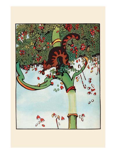 Candy Tree Treats-Eugene Field-Art Print