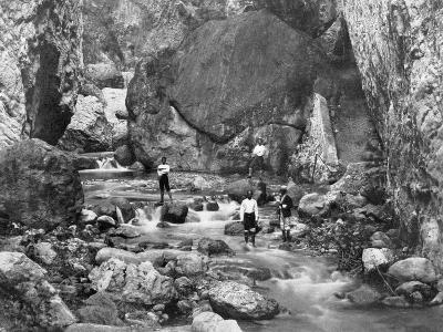 Cane River, Jamaica, C1905-Adolphe & Son Duperly-Giclee Print