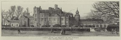Canford Manor, the Residence of Lord Wimborne--Giclee Print