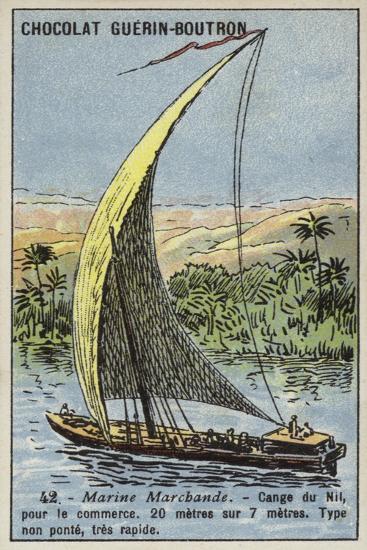 Cange on the Nile, Egypt--Giclee Print