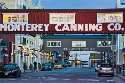 Cannery Row Area at Dawn, Monterey, California, USA--Photographic Print