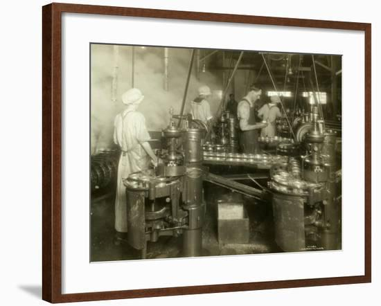 Cannery Workers, Anancortes, WA-Asahel Curtis-Framed Giclee Print