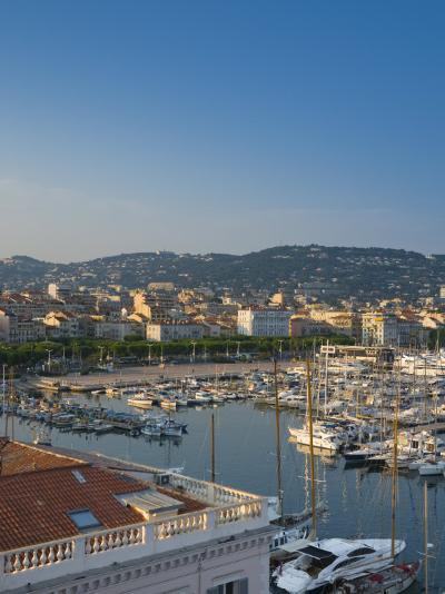 Cannes, Old Town Le Suquet, Vieux Port, Provence-Alpes-Cote D'Azur, France-Alan Copson-Photographic Print