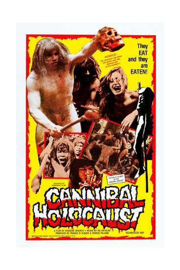 Cannibal Holocaust--Art Print