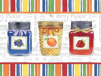 Canning Kitchen IX-Beth Grove-Art Print