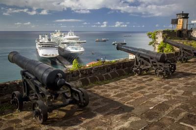 Cannon of Fort Georges, Saint Georges, Grenada, West Indies-Brian Jannsen-Photographic Print