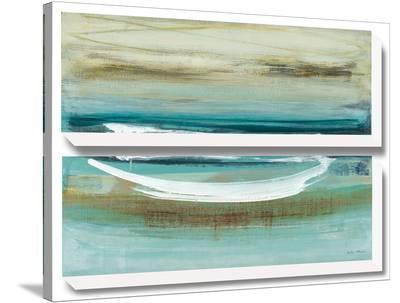 Canoe II-Heather Mcalpine-Stretched Canvas Print