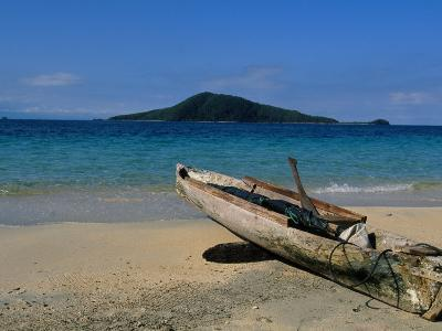 Canoe, Los Cochino, Garifuma, Honduras-Timothy O'Keefe-Photographic Print