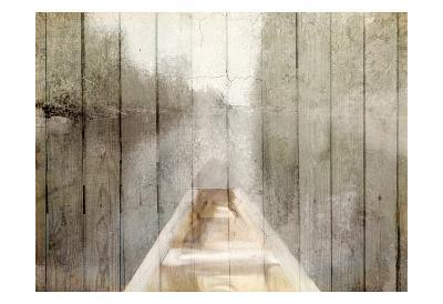 Canoe Tip-Kimberly Allen-Art Print