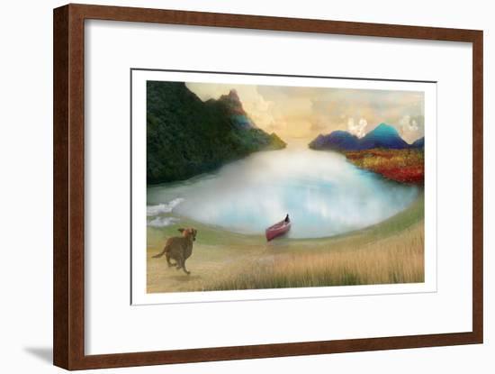 Canoe To Heaven-Nancy Tillman-Framed Art Print