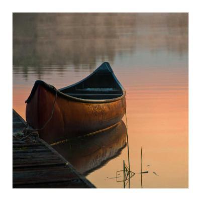 Canoe-Rick Schimidt-Art Print