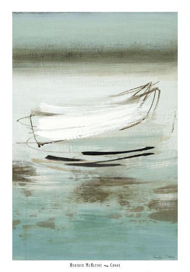 Canoe-Heather Mcalpine-Art Print