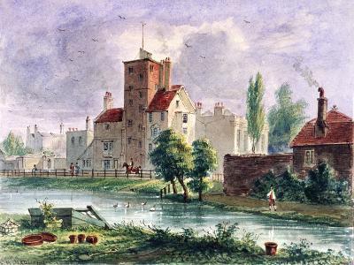 Canonbury House, Islington, London, 1835-CH Matthews-Giclee Print