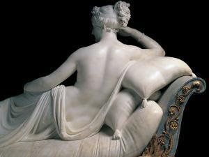 Pauline Borghese Bonaparte As Venus Victrix by Canova Antonio