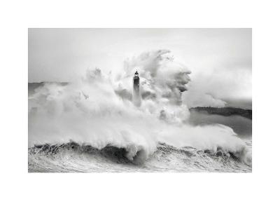 Cantabria Lighthouse I-Marina Cano-Art Print