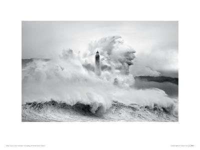 Cantabria Lighthouse I-Marina Cano-Giclee Print