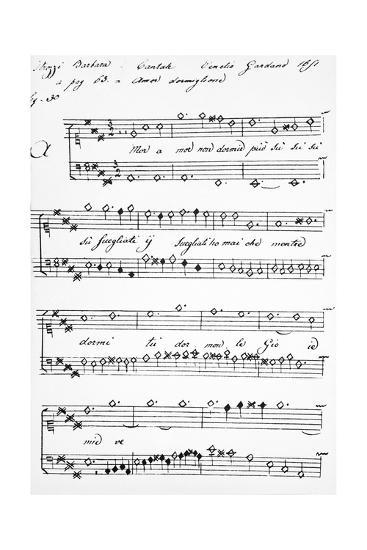 Cantata-Barbara Strozzi-Giclee Print