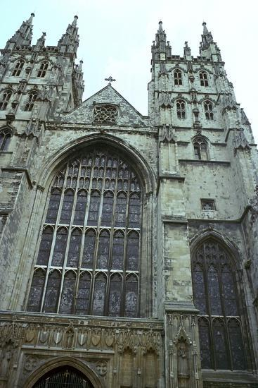 Canterbury Cathedral from the west, 6th century-Unknown-Photographic Print
