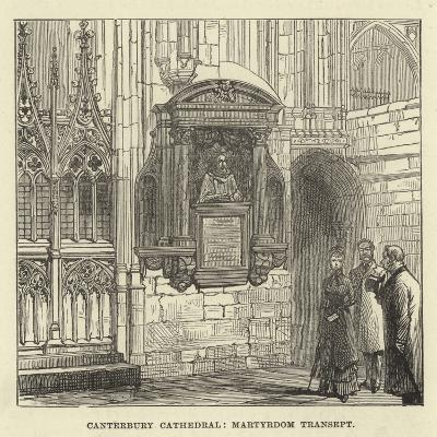 Canterbury Cathedral, Martyrdom Transept--Giclee Print