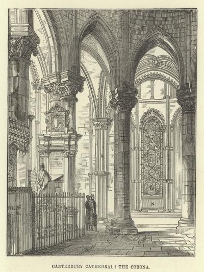 Canterbury Cathedral, the Corona--Giclee Print