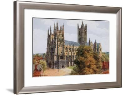 Canterbury Cathedral-Alfred Robert Quinton-Framed Giclee Print