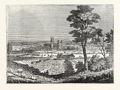 Canterbury from the Railway--Giclee Print