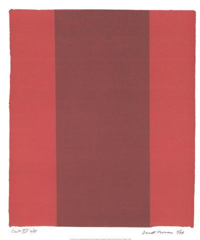 Canto XIV-Barnett Newman-Collectable Print