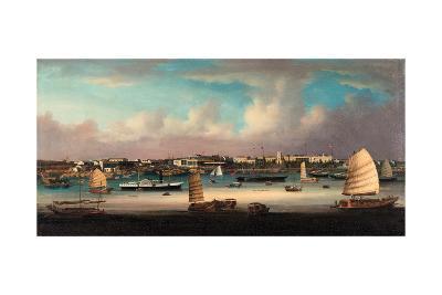 Canton, China 1855--Giclee Print
