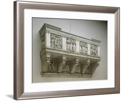 Cantoria (Singing Tribune) by Luca Della Robbia--Framed Photographic Print