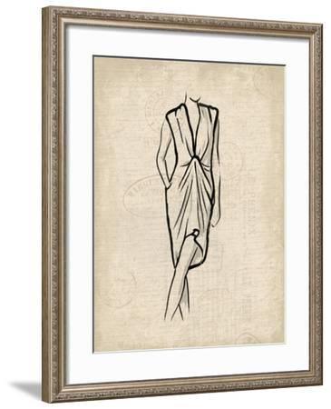 Canvas Dress 2-OnRei-Framed Art Print