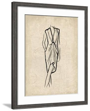 Canvas Dress 2-OnRei-Framed Art Print