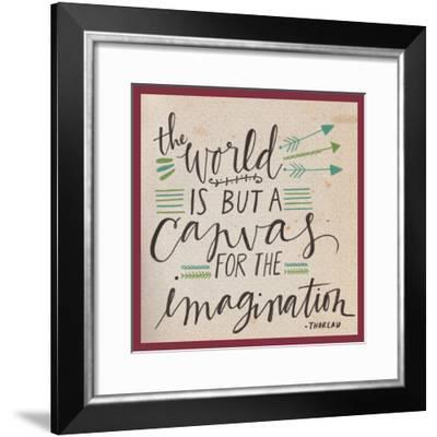 Canvas for the Imagination-Katie Doucette-Framed Art Print