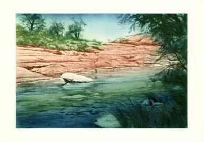 Canyon Stream-Harvey Kidder-Limited Edition