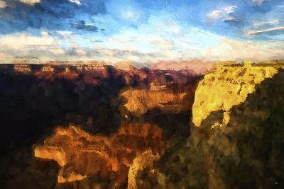 Canyon Sunset-Philippe Hugonnard-Giclee Print