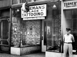 Coleman's Tattooing Place by Cap Coleman