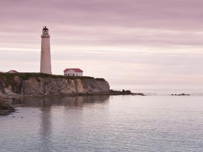 Cap Des Rosiers Lighthouse, Gaspe, Quebec, Canada, North America-Michael DeFreitas-Photographic Print