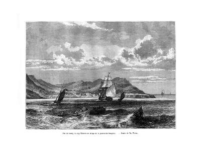 Cap Tiburon, Haiti, 19th Century-T Weber-Giclee Print